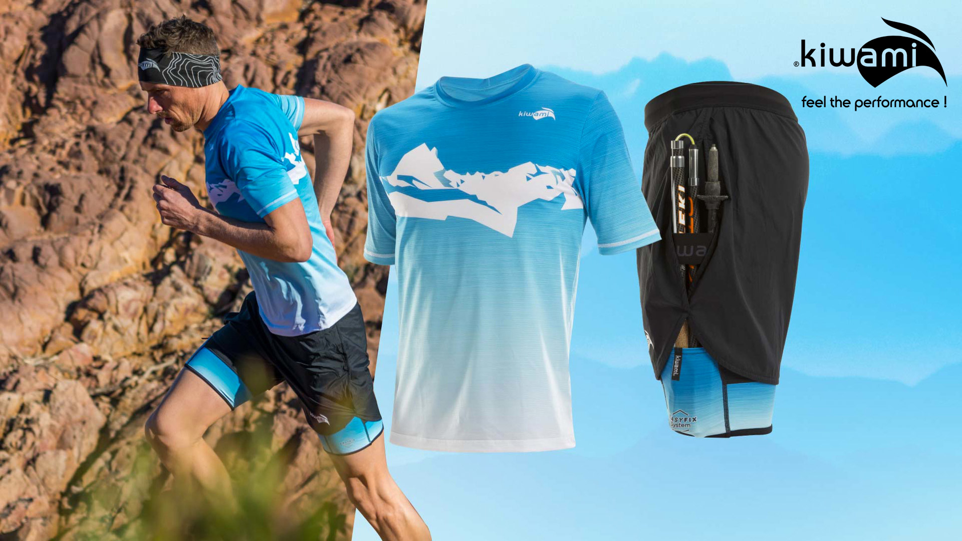 KiWAMi FREEDOM Trailrunning Short + Trail Top